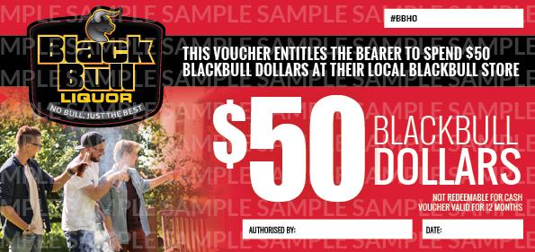 $50 Black Bull Voucher $50 Black Bull Voucher